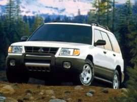 1999 Subaru Forester Base 4dr All-wheel Drive