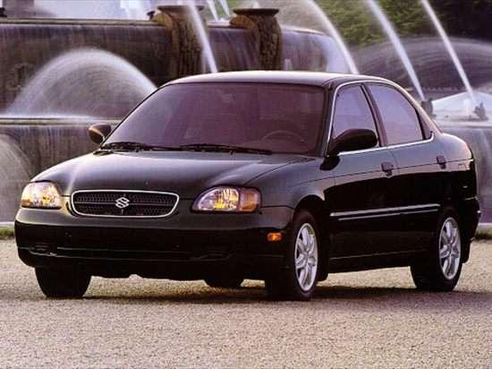 1999 Suzuki Esteem