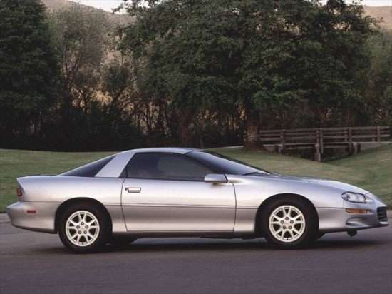 2000 Chevrolet Camaro Special Service Package Coupe