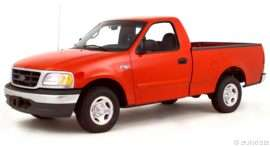 2000 Ford F-150 Work Series 4x2 Regular Cab Styleside 119.9 in. WB