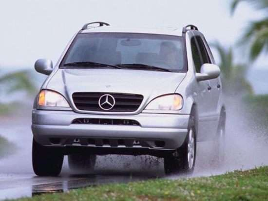 2000 mercedes benz m class models trims information and for Mercedes benz ml350 msrp