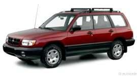 2000 Subaru Forester L 4dr All-wheel Drive