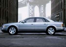 2001 Audi A8 4.2 4dr All-wheel Drive Quattro Sedan