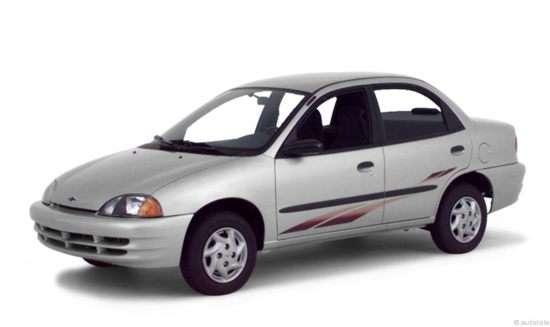 2001 Chevrolet Metro