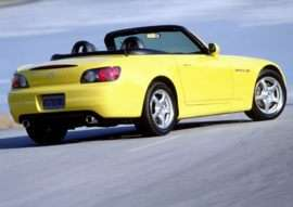 2001 Honda S2000 Base 2dr Convertible