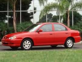 2001 Kia Sephia Base 4dr Sedan