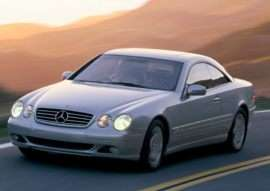 2001 Mercedes-Benz CL-Class Base CL500 2dr Coupe
