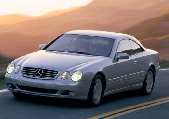 2001 Mercedes-Benz CL-Class