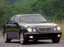 2001 Mercedes-Benz E-Class Base E320 4dr Rear-wheel Drive Sedan