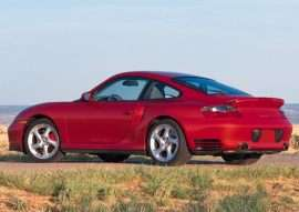 2001 Porsche 911 Turbo 2dr Coupe