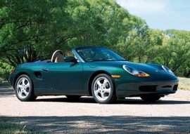 2001 Porsche Boxster Base 2dr Rear-wheel Drive Convertible