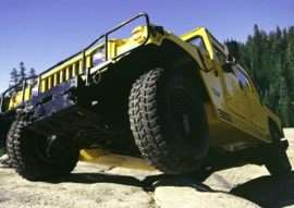2002 Am General Hummer H1 Open Top 4dr All-wheel Drive