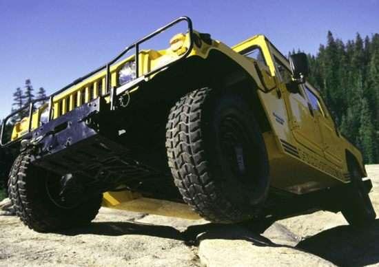 2002 AM General Hummer H1