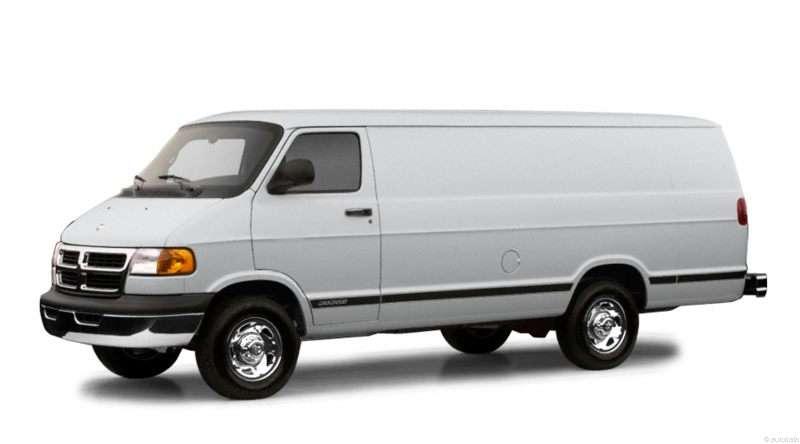 2002 Dodge Ram 1500 White 2002 Dodge Ram Van 1500