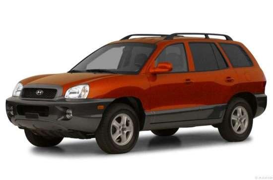 2002 Hyundai Santa Fe Models  Trims  Information  And Details