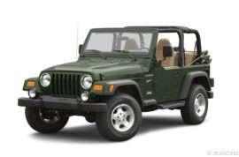 2002 Jeep Wrangler Sport 2dr 4x4