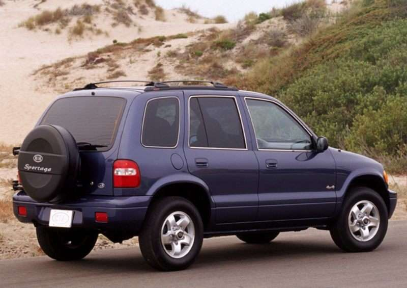 2002 Kia Sportage Pictures Including Interior And Exterior