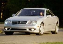 2002 Mercedes-Benz CL-Class Base CL500 2dr Coupe