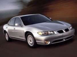 2002 Pontiac Grand Prix SE 4dr Sedan