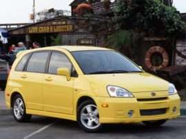 2002 Suzuki Aerio SX Base 4dr Hatchback