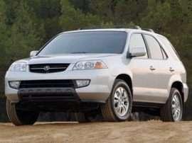 2003 Acura MDX 3.5L 4dr 4x4
