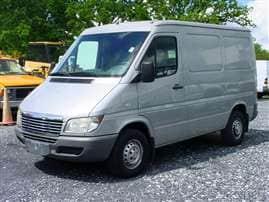 2003 Dodge Sprinter Van 2500 High Ceiling Cargo Van 118 in. WB