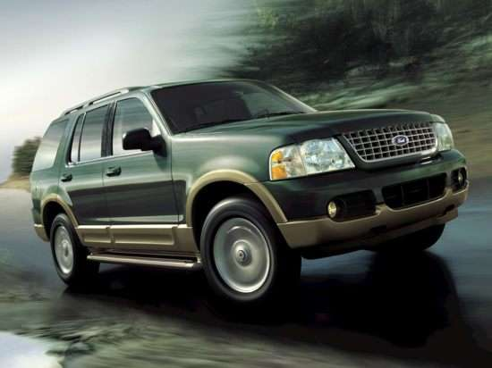 2003 Ford Explorer XLT 4.0L Sport (130A) 4x2