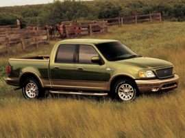 2003 Ford F-150 SuperCrew Lariat 4x2 Styleside 139 in. WB