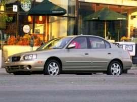 2003 Hyundai Elantra GLS 4dr Sedan