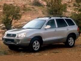 2003 Hyundai Santa Fe Base Front-wheel Drive