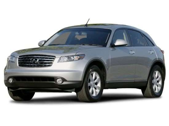 2003 Infiniti Fx35 Models Trims Information And Details