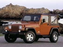 2003 Jeep Wrangler Sport 2dr 4x4