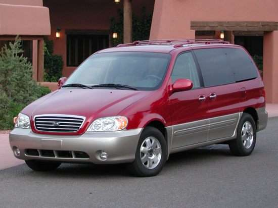 2003 Kia Sedona Models Trims Information And Details