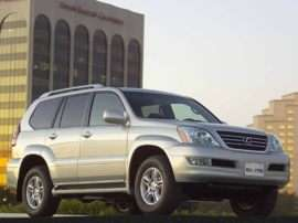 2003 Lexus GX 470 Base 4dr All-wheel Drive