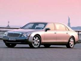 2003 Maybach 62 Base 4dr Sedan