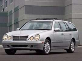 2003 Mercedes-Benz E-Class Base E320 4dr Rear-wheel Drive Station Wagon