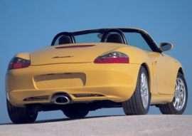 2003 Porsche Boxster Base 2dr Rear-wheel Drive Convertible