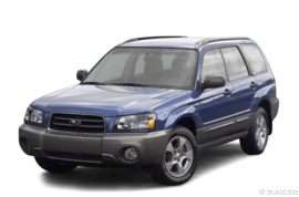 2003 Subaru Forester XS 4dr All-wheel Drive