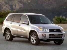 2003 Toyota RAV4 Base Front-wheel Drive