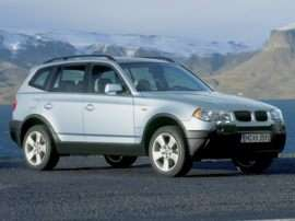 2004 BMW X3 2.5i 4dr All-wheel Drive