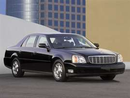 2004 Cadillac DeVille Base 4dr Sedan
