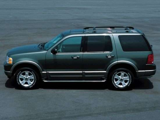 2004 Ford Explorer Limited 4.6L (165A) 4x2