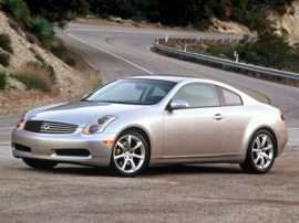 2004 Infiniti G35 Base 2dr Coupe
