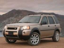 2004 Land Rover Freelander HSE 4dr All-wheel Drive
