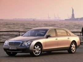 2004 Maybach 62 Base 4dr Sedan