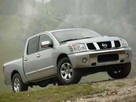 2004 Nissan Titan LE 4x2 Crew Cab