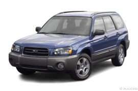 2004 Subaru Forester 2.5 X 4dr All-wheel Drive