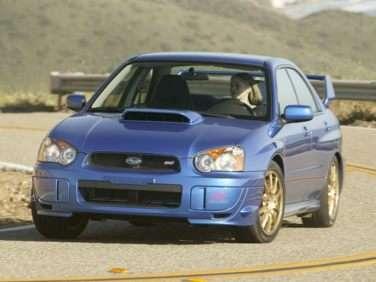 2004 Subaru Impreza WRX STi