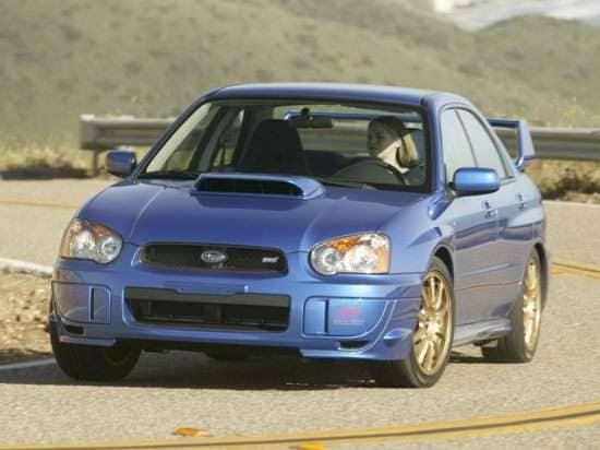 2004 Subaru Impreza WRX STi w/Silver-Painted