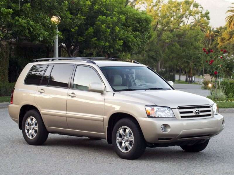 2004 Toyota Highlander Pictures Including Interior And